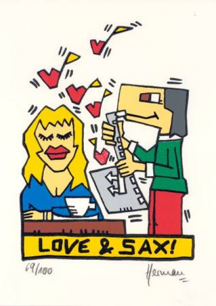 Love and Sax von Herman